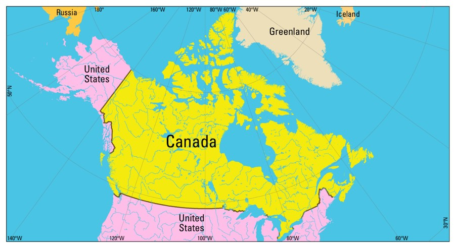 Time Zones in Canada  Time Genies Encyclopedia