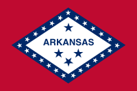 Flag of Arkansas, United States