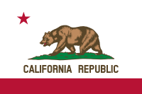 Flag of California, United States