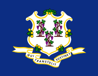 Flag of Connecticut, United States