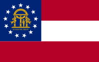 Flag of Georgia, United States