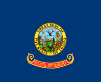 Flag of Idaho, United States