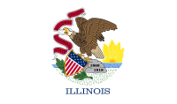 Flag of Illinois, United States