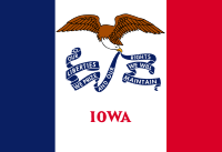 Flag of Iowa, United States