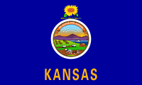 Flag of Kansas, United States