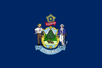 Flag of Maine, United States