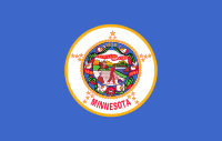 Flag of Minnesota, United States