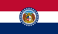 Flag of Missouri, United States