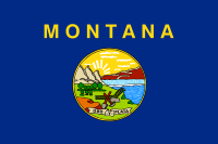 Flag of Montana, United States