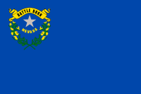 Flag of Nevada, United States