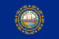 Flag of New Hampshire, United States
