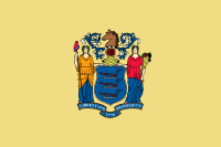 Flag of New Jersey, United States