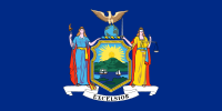 Flag of New York, United States