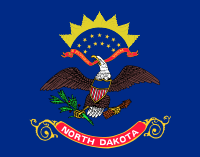 Flag of North Dakota, United States