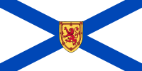 Flag of Nova Scotia, Canada