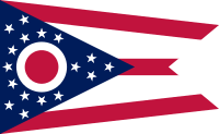 Flag of Ohio, United States