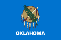 Flag of Oklahoma, United States
