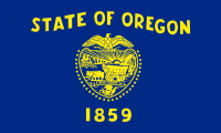 Flag of Oregon, United States
