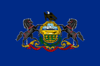 Flag of Pennsylvania, United States