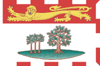 Flag of Prince Edward Island, Canada