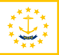 Flag of Rhode Island, United States