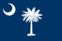 Flag of South Carolina, United States
