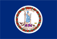 Flag of Virginia, United States