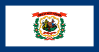 Flag of West Virginia, United States