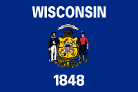 Flag of Wisconsin, United States