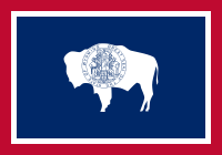 Flag of Wyoming, United States