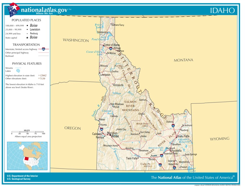 Time Zones In Idaho Time Genies Encyclopedia - Time change map usa