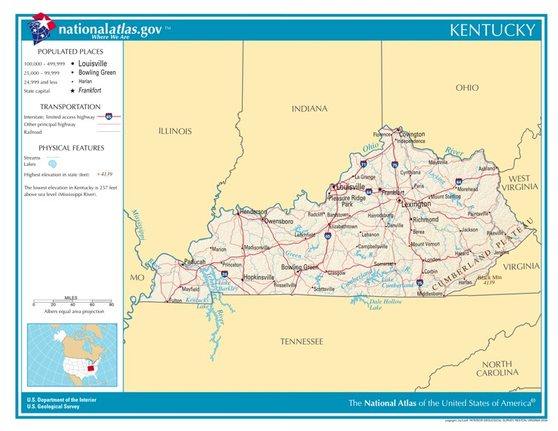 time zone map for kentucky Time Zones In Kentucky Time Genie S Encyclopedia