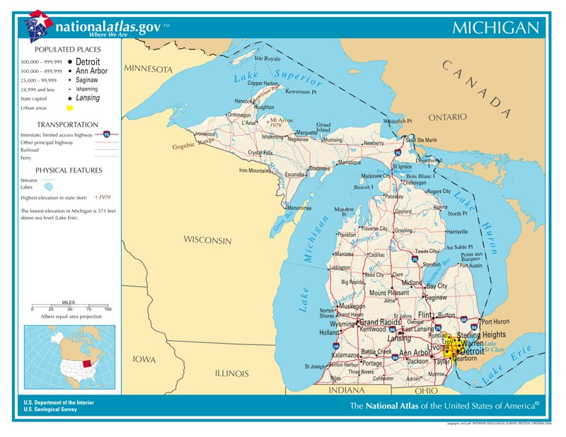 Time Zones in Michigan — Time Genie's Encyclopedia