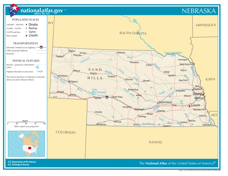 Time Zone Nebraska Map.Time Zones In Nebraska Time Genie S Encyclopedia