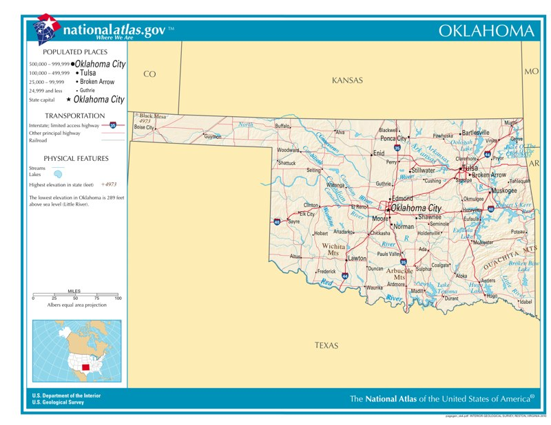 Time Zones in Oklahoma — Time Genie's Encyclopedia