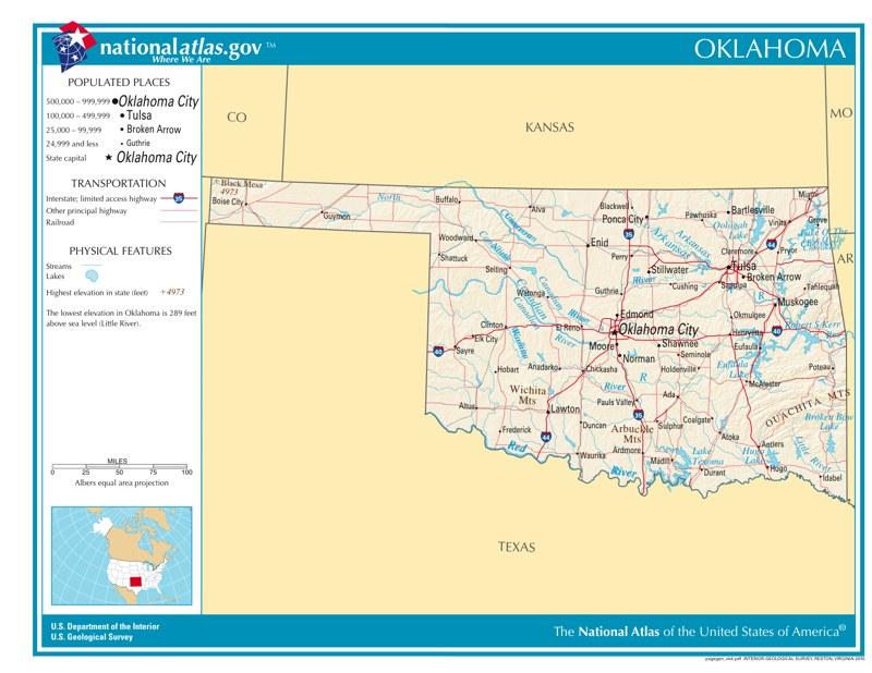 Time Zones In Oklahoma Time Genie 39 S Encyclopedia