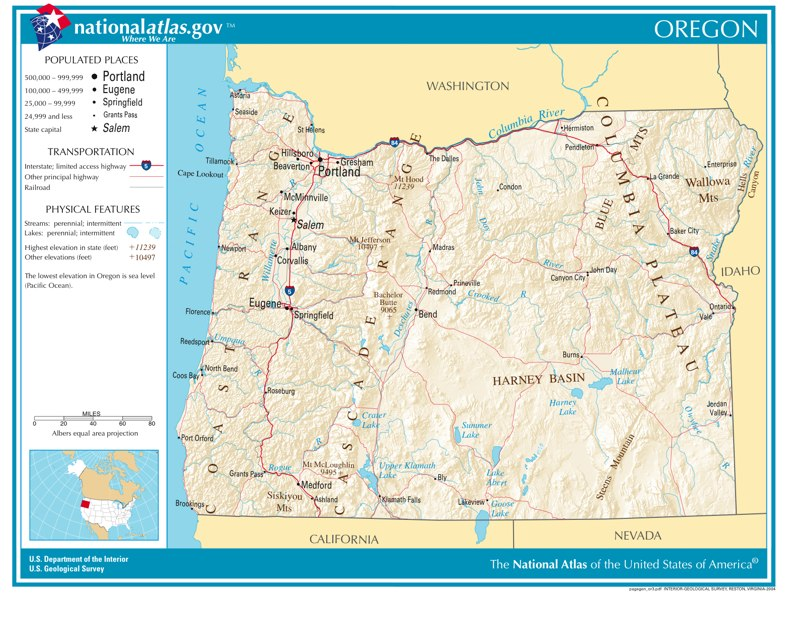 Time Zones in Oregon — Time Genie's Encyclopedia