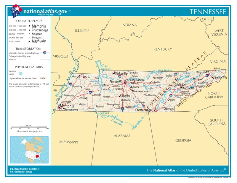Time Zones In Tennessee  Time Genie39s Encyclopedia